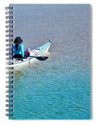 Leisure On The Lake Spiral Notebook