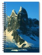 Lemaire Channel Antarctica Spiral Notebook