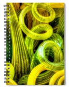Lemon And Lime Spiral Notebook
