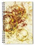 Lemon Bubbles Spiral Notebook