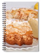 Lemon Bundtcake With Wedge Cut Out Spiral Notebook