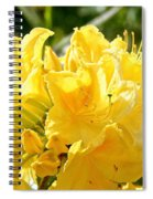 Lemon Drop Azalea Spiral Notebook