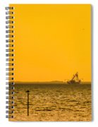 Lemon Fisher Spiral Notebook