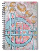 Lemon Rocks And Water Rings Spiral Notebook