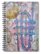 Lemon Rocks Water Lines And Gravity Spiral Notebook