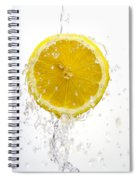 Lemon Splash Spiral Notebook