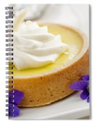 Lemon Tart  Spiral Notebook
