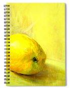 Lemon Yellow Spiral Notebook