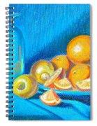 Lemons And Oranges Spiral Notebook