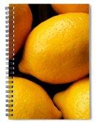 Lemons Spiral Notebook