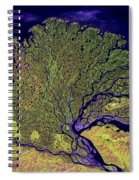 Lena River Delta Spiral Notebook
