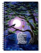 Lenore By A Cypress Tree Spiral Notebook