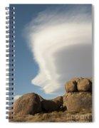 Lenticular Cloud Spiral Notebook