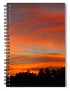 Lenticular Sunrise Spiral Notebook