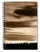 Lenticular Sunset 2 Spiral Notebook