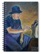 Figurative Painting Spiral Notebook