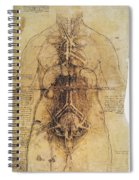 Leonardo: Anatomy, C1510 Spiral Notebook