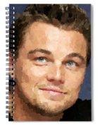 Leonardo Dicaprio Portrait Spiral Notebook