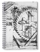 Leonardo: Invention Spiral Notebook