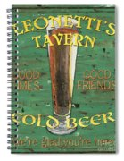Leonetti's Tavern Spiral Notebook
