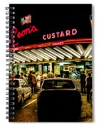 Leon's Frozen Custard Spiral Notebook