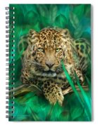 Leopard - Spirit Of Empowerment Spiral Notebook