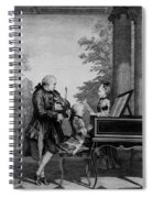 Leopold Mozart And His Two Children Spiral Notebook