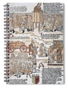 Lepers, 1493 Spiral Notebook