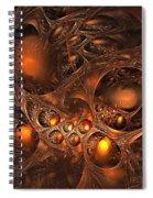 Leptonite Caverns Spiral Notebook
