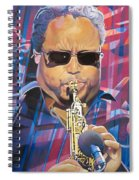 Leroi Moore And 2007 Lights Spiral Notebook