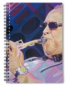 Leroi Moore-op Art Series Spiral Notebook