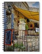 Les Baux De Provence France Dsc01887 Spiral Notebook