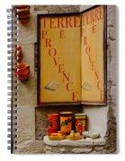 Les Baux De Provence France Dsc01931 Spiral Notebook