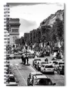 Les Champs Elysees  Spiral Notebook