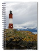 Les Eclaireurs Lighthouse Southern Patagonia Spiral Notebook