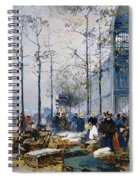 Les Halles Paris Spiral Notebook