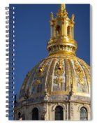 Les Invalides Dome Spiral Notebook