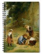 Les Jeunes Jardiniers Spiral Notebook
