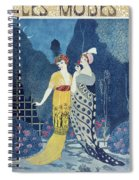 Les Modes Spiral Notebook
