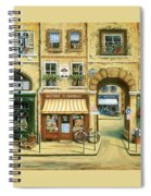Les Rues De Paris Spiral Notebook