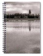 Les Templettes Et Le Bassin De La Sourderie Spiral Notebook