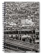 Les Toits De Paris Spiral Notebook