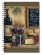 Les Vins Spiral Notebook