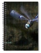 Lessons From Nature 1 - Be Iridescent Spiral Notebook