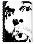 Selfie Circa 2005 Spiral Notebook