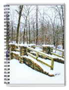 Let It Snow Let It Snow Spiral Notebook
