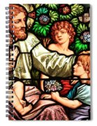 Let The Children Come To Me Spiral Notebook