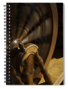 Let The Spinning Wheel Spin Spiral Notebook