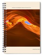 Let The Sun Shine In - Poster Spiral Notebook