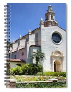 Let There Be Light Knowles Memorial Chapel 1 By Diana Sainz Spiral Notebook